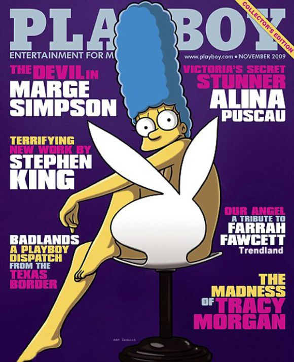 marge Marge Simpson NSFW for Playboy !?