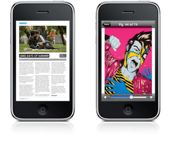 mix2cut Fan The Fire Magazine iPhone app