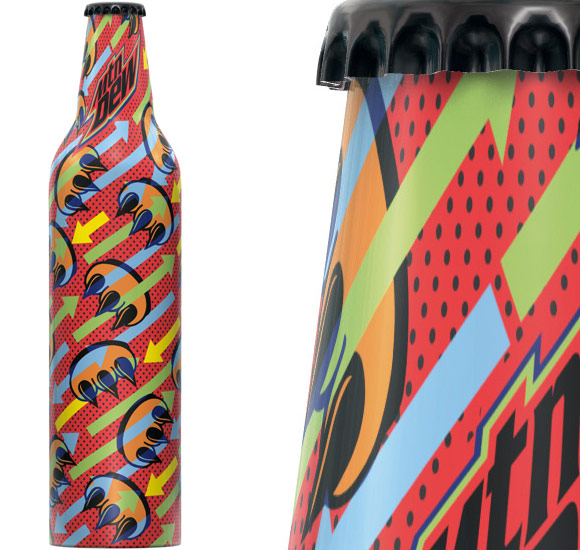 mountaindewcldfx Mountain Dew   Green Label Art, Volume III   Limited Edition Art Inspired Bottles