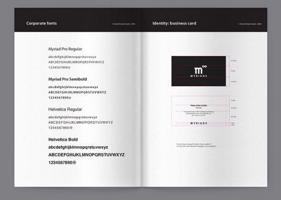 myriadspr2 Myriads corporate identity by Artel Artyomovyh