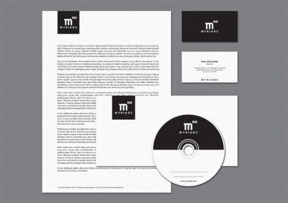 myriadspr 05 Myriads corporate identity by Artel Artyomovyh