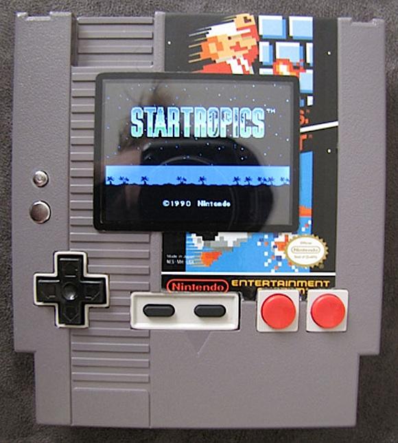 nes cartridge portable NES Portable