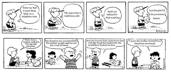 peanuts Peanuts by Charles Bukowski