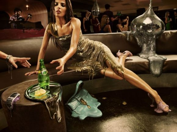 perriermeltadcampaign2600x450 Perrier AD Campaigns
