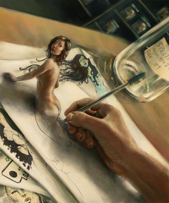 scottDavidsonDYT Awesome Painting by Scott Davidson