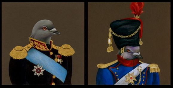 screencapture1 Pigeon in Uniform