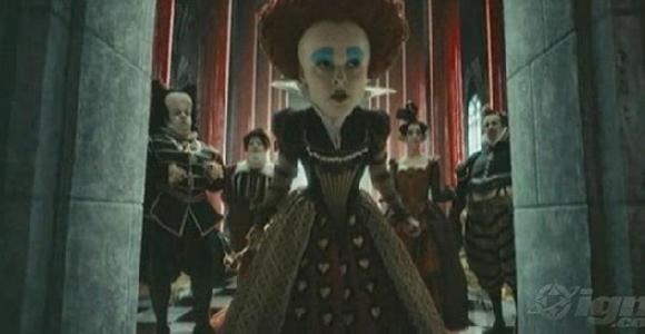 screencapture 01 Exclusivity Alice on Wonderland Trailer leak