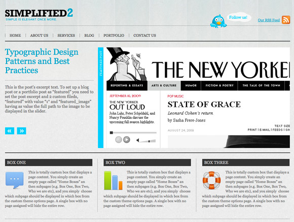 simplified The Coolest 30 Wordpress Themes Out in September