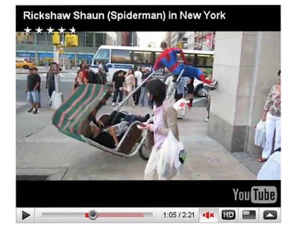 spider 01 Spiderman in New York