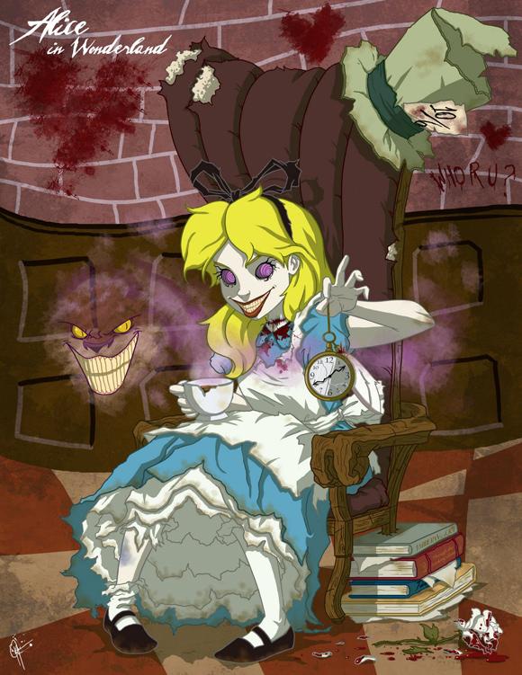 twistedprincess alice Twisted Princess par Jeffrey Thomas