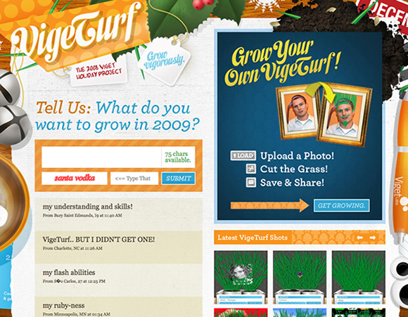 vigeturf Web Design Trend Hunting   The Messy Desk: Examples & Best Practices