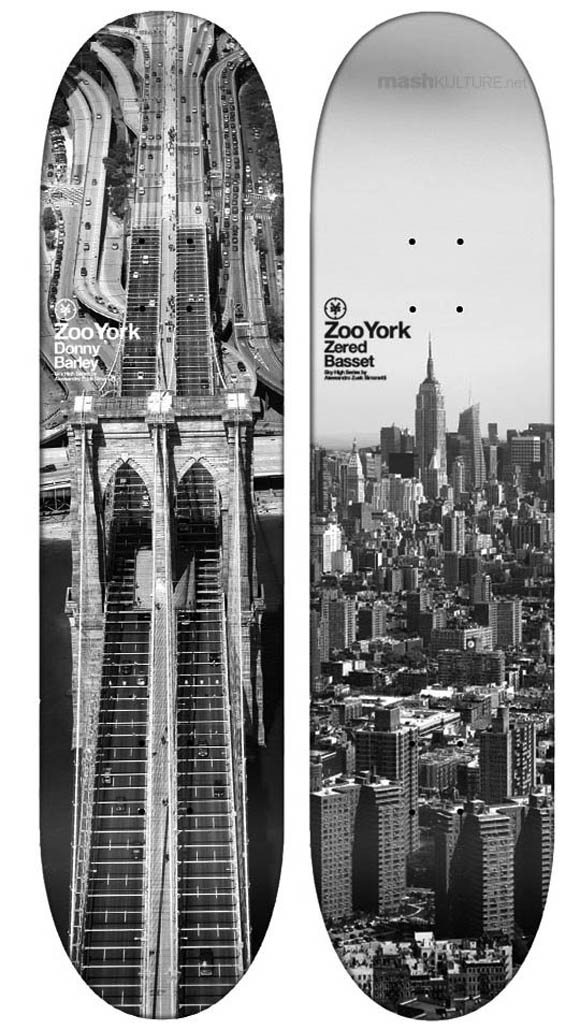 zoo york sky high series 02 Zuek Simonetti x Zoo York 'Sky High Series' Decks