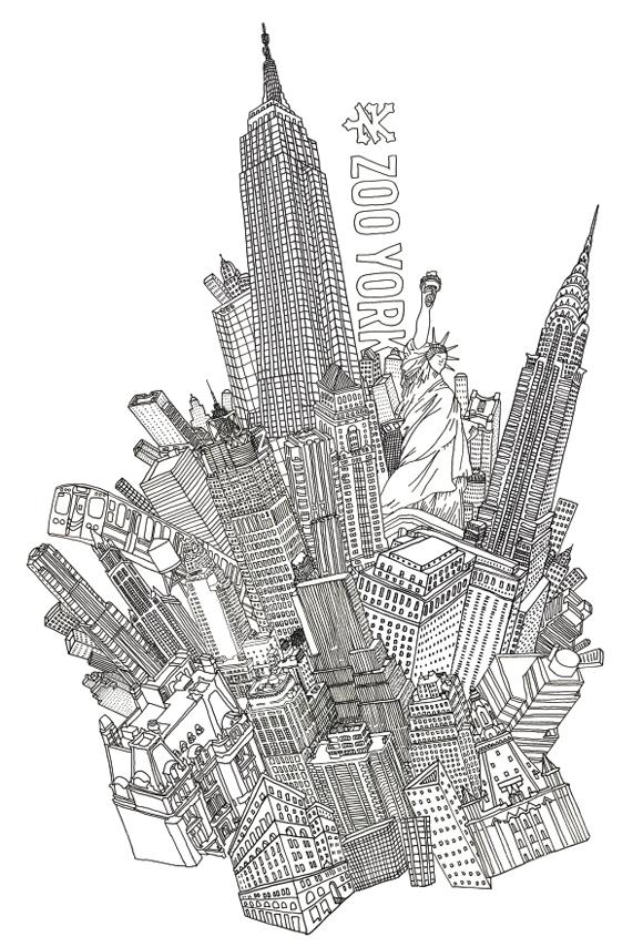 zoodrawing Illustration by Dan Zvereff