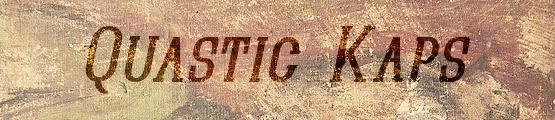 Quastic Kaps Italic free font