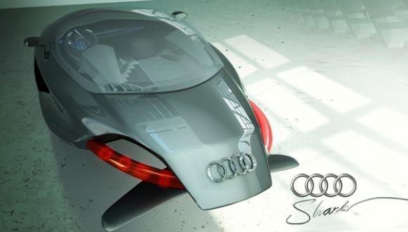 1185211259179290 01 2009 World Auto Design Contest Winner; Audi Shark