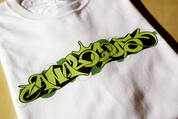 1 03 Greens T shirt by Analogous clothing