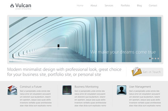 1vulcan 15 Brilliant Business AND Blogging WordPress Themes