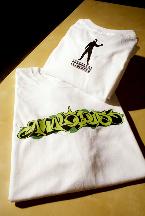 5 Greens T shirt by Analogous clothing