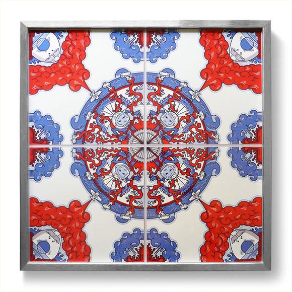5 098 15 Fabulous Red Bull Air Race Canvas (Azulejos)