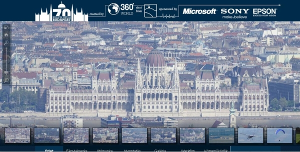 7GB r 70 Billion Pixels Budapest   The largest photo on Earth