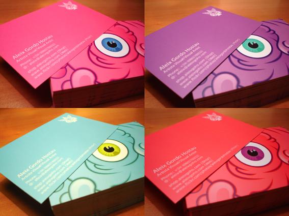 AleixGordoHostau MisNuevasTarjetas PersonalCards img1 Aleix Gordo Hostau 'Mis Nuevas Tarjetas' Personal Cards