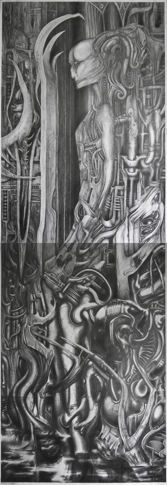 AxisCylinders DUT Amazing Pencil Drawings by Patryk Kuleta