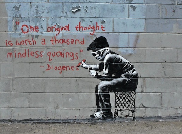 Top 12 Banksy Pieces of 2010