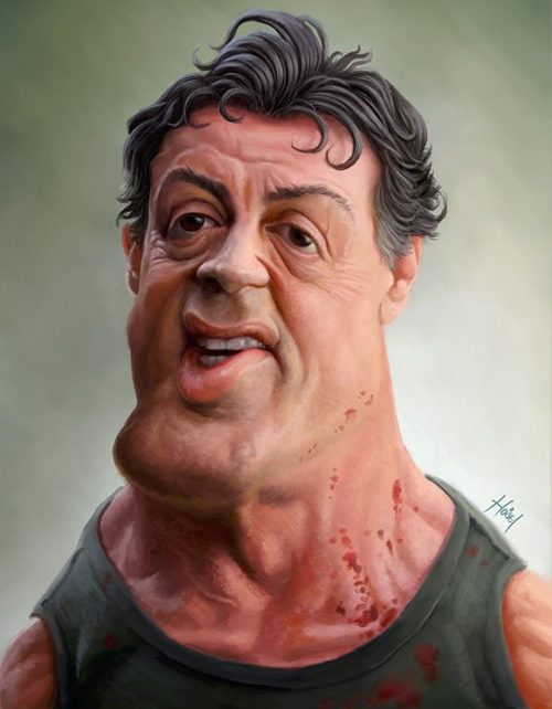 funny celebrity photos. 40 Funny Celebrity Caricatures