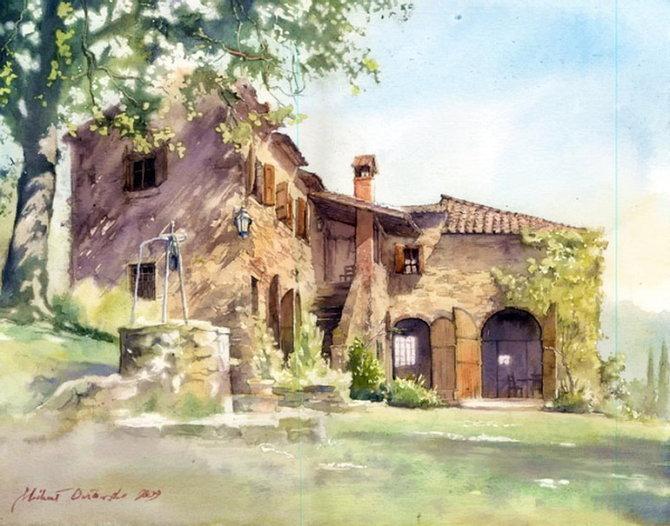 MichalOrlowski Watercolors Paintings and Drawings by Michal Orlowski