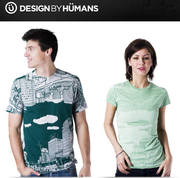 REVERSECITY IMAGE (Designbyhumans T shirt) Reverse city