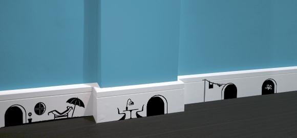 RatPack DesignYouTrust 580x270 Fun Wall Illustrations by London based agency Hu2 Design