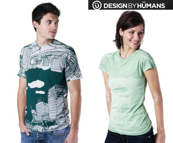 Reversecity2 (Designbyhumans T shirt) Reverse city
