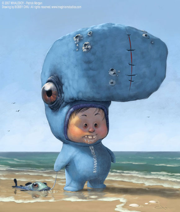 Whaleboy by imaginism Lovely creatures from Imaginism
