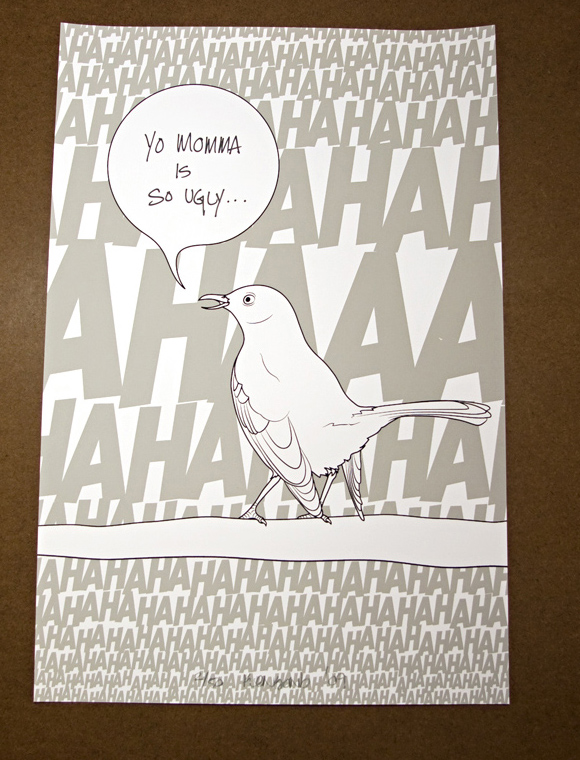 bird1 Mockingbirds (3 print set)