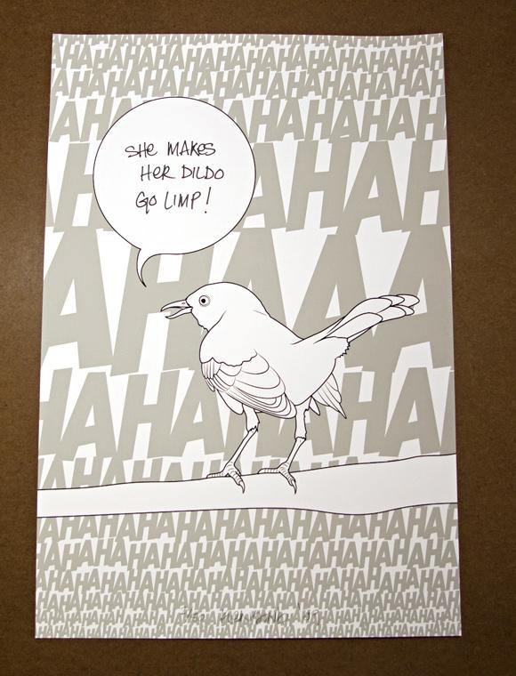 bird2 Mockingbirds (3 print set)