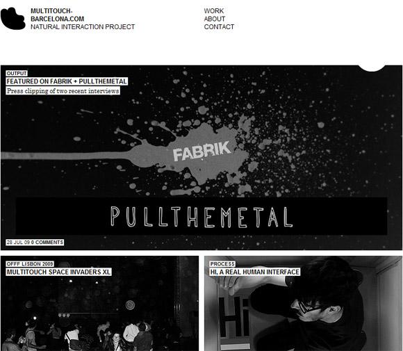 blackandwhite Inspiration: Showcase of Black and White Web Design