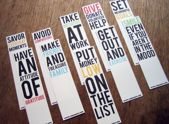 bookmark2 Printable Happiness Bookmarks