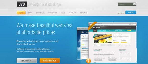 Professional Business Website Design Tutorials In Photoshop