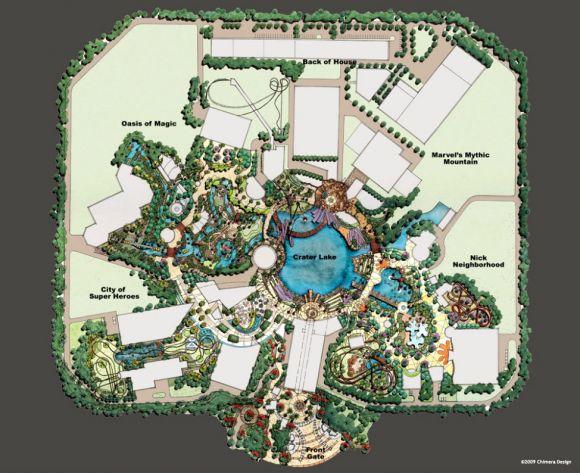designfetishdubaimarvelthemepark3 Dubai Marvel Super Heroes Theme Park Concept