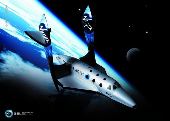 dytspaceshiptwo 1 Virgin Galactics SpaceShipTwo Officially Unveiled