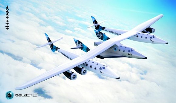 dytspaceshiptwo 3 Virgin Galactics SpaceShipTwo Officially Unveiled