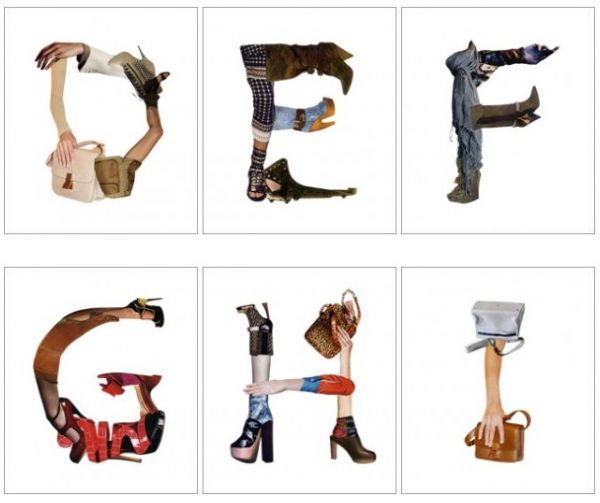 fash Fashion Alphabet