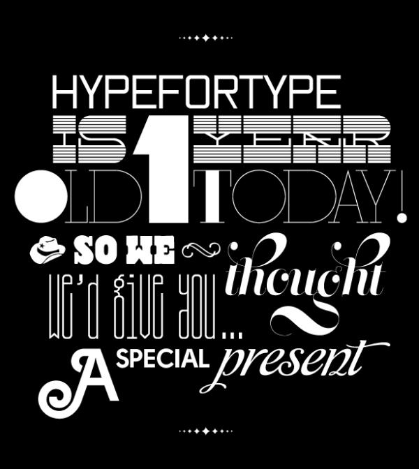 hftblog Happy Birthday Typefaces!
