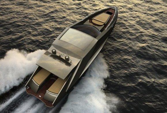 lamboyachtdyt1 Mauro Lecchis Lamborghini Concept Yacht