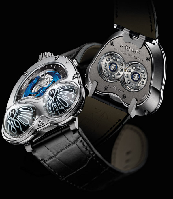 mbandfhm3frogwatch 3 The MBandF HM3 Frog Timepiece