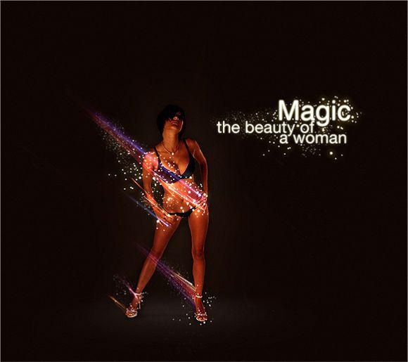 model new Magic Woman