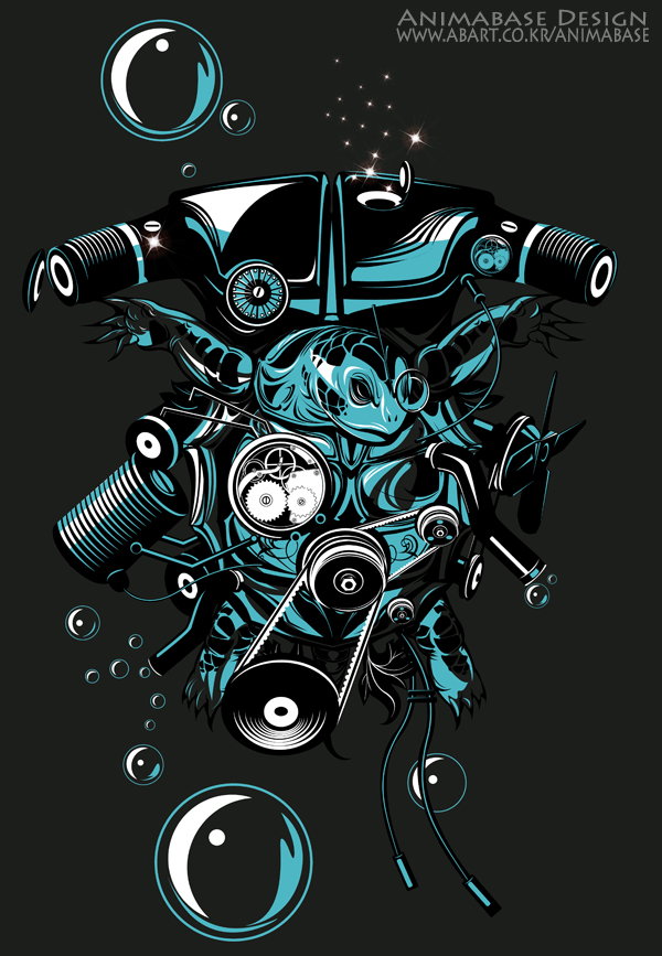 neoturtle artwork 600s animabase (Tee Design) Neoturtle