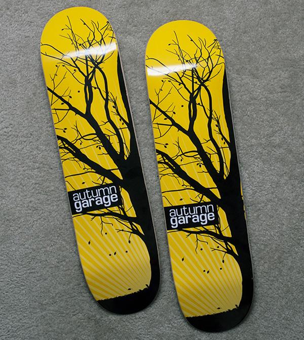 skateboardgiveawaywanken1 Designed Skateboard deck giveaway!