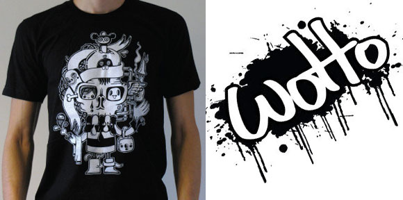 skullhead580 01 Incredible T Shirt Doodle Artist: Wotto