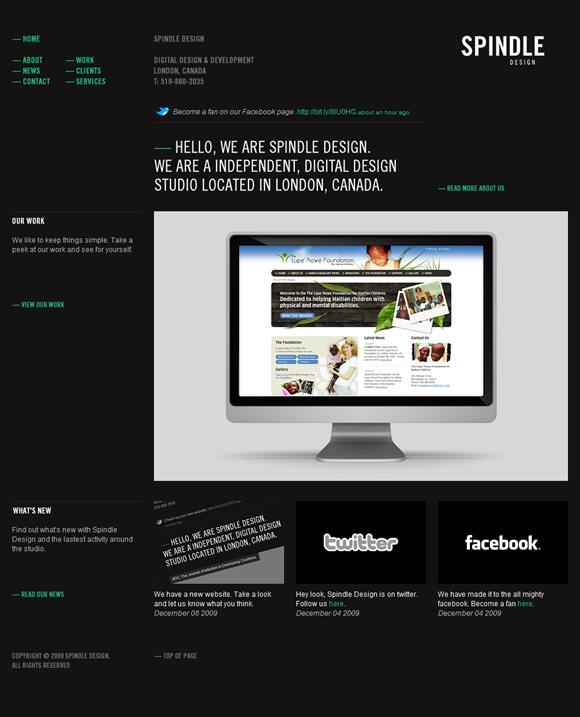 spindle web Spindle Design